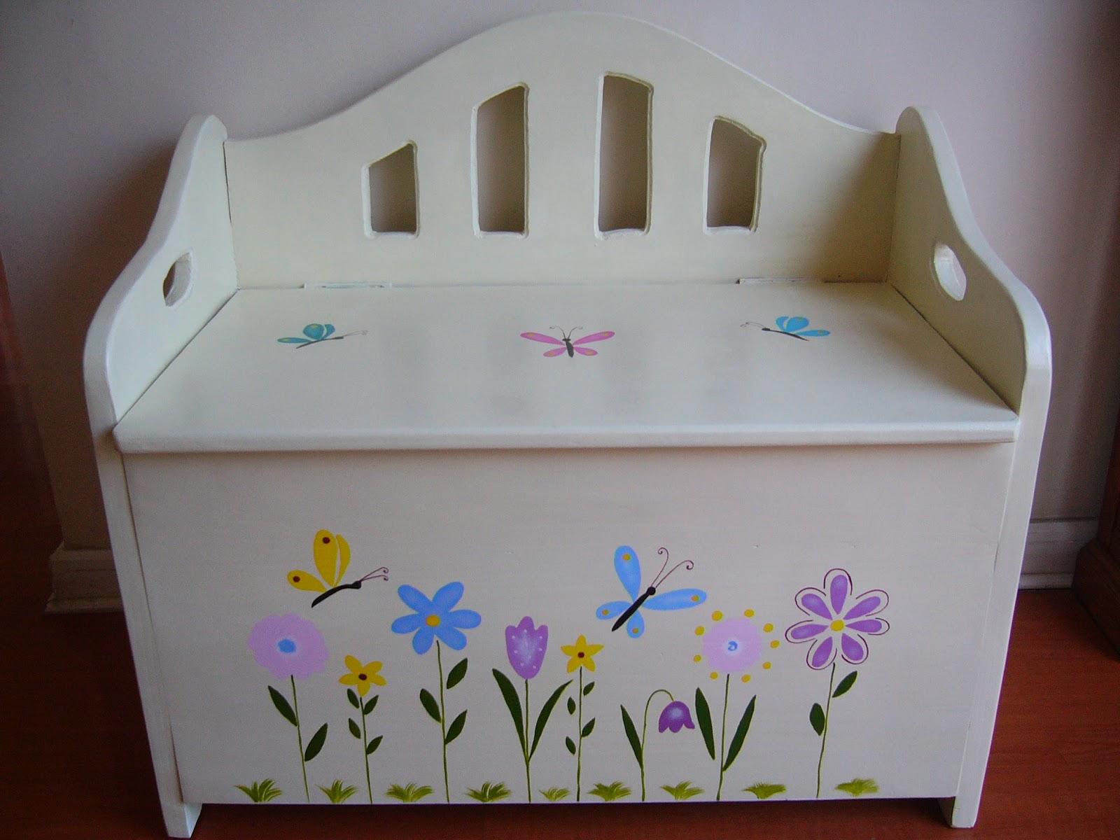Muebles infantiles decoraci n para ni os juguetes - Baules para ninos ...