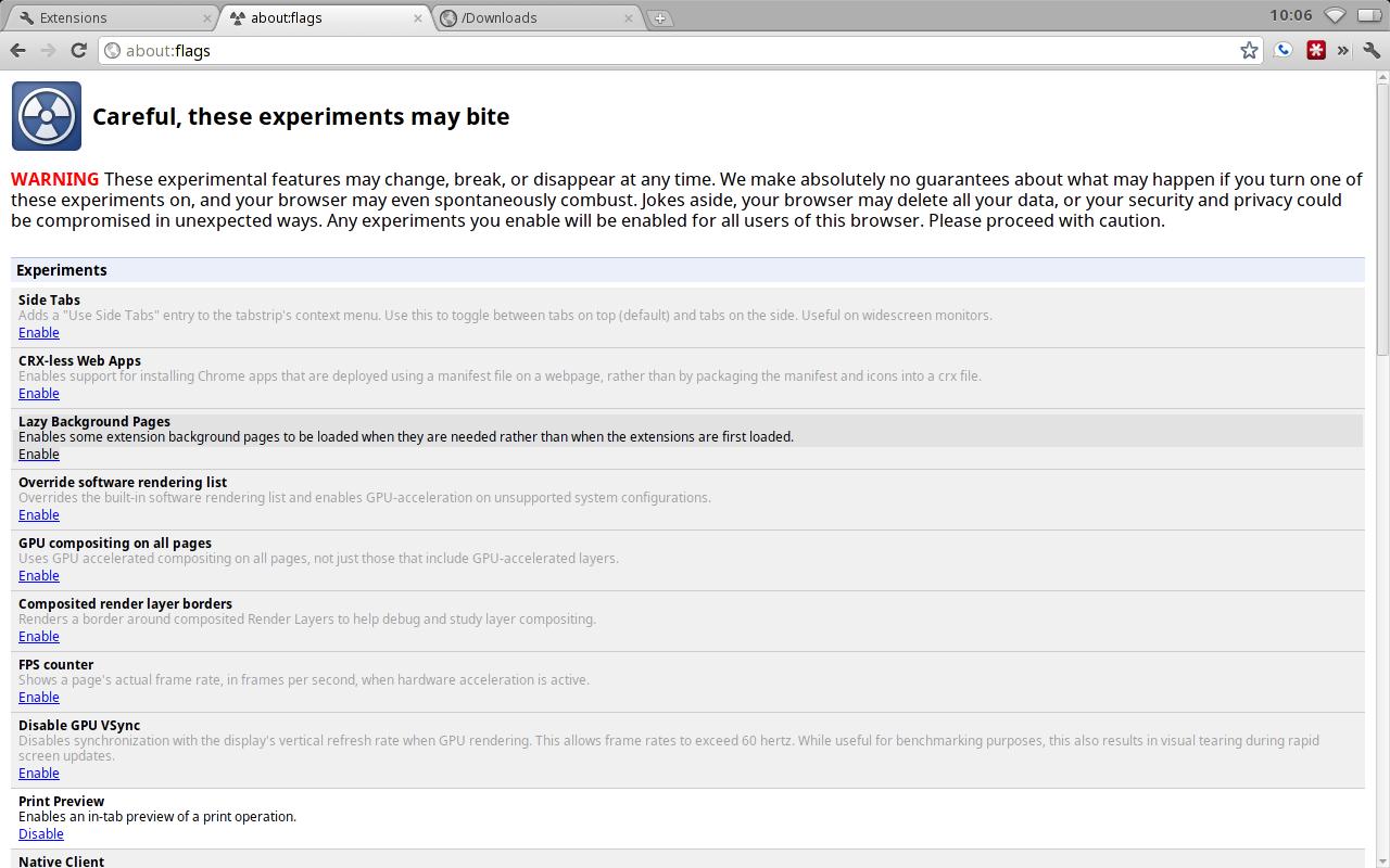 The Cougar Abogado: A Potpourri of Updates in Chrome OS 0.15.1011.0