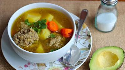 receta de albóndigas mexicanas