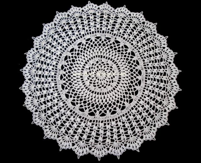 Free Crochet Doily Patterns To Print : THREAD DOILY PATTERNS Free Patterns