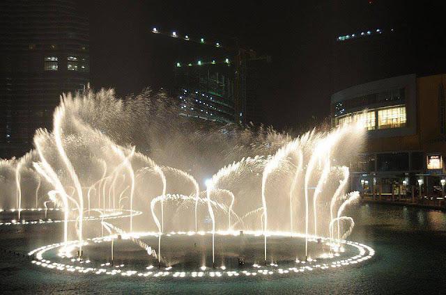 World's Largest music Fountain in Dubai