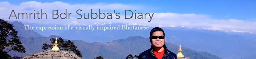 Amrith Bdr Subba's Diary|