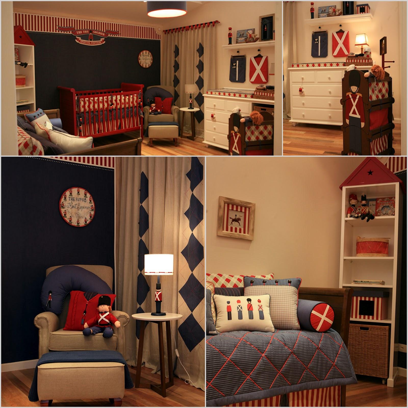 Fraldas & Rabiscos Temas de decoração para quarto de bebés #2