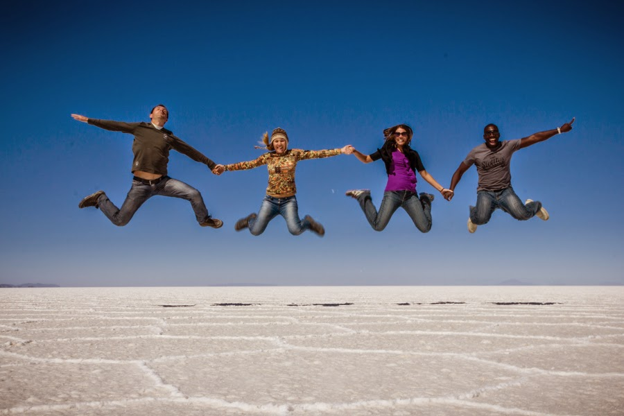 Bolivia Salt Flats Perspective Photos