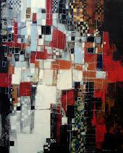 Le vide éblouissant - 92 x 73 cm - 2011