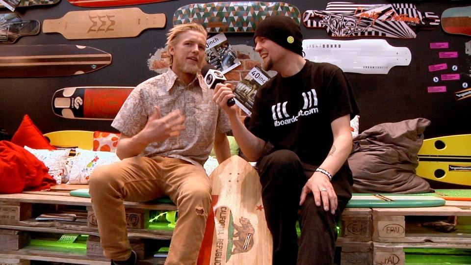 Hamboards skateboard of Surfboard. Gus Hamborg geeft antwoord.