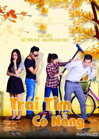 Trai Tim Co Nang 2014 poster