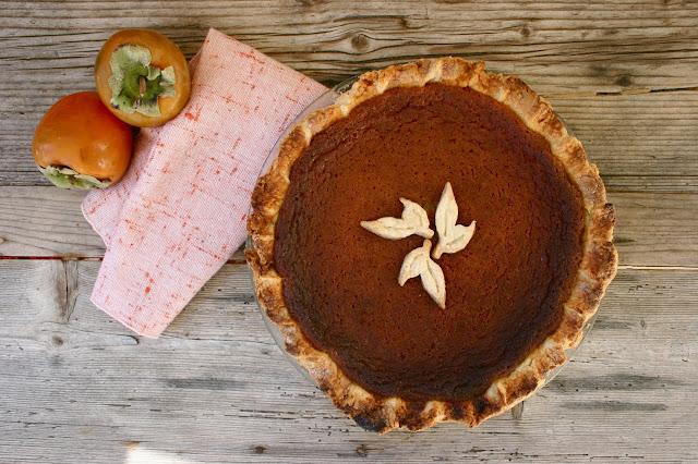 Hoosier Mama's Persimmon Pie