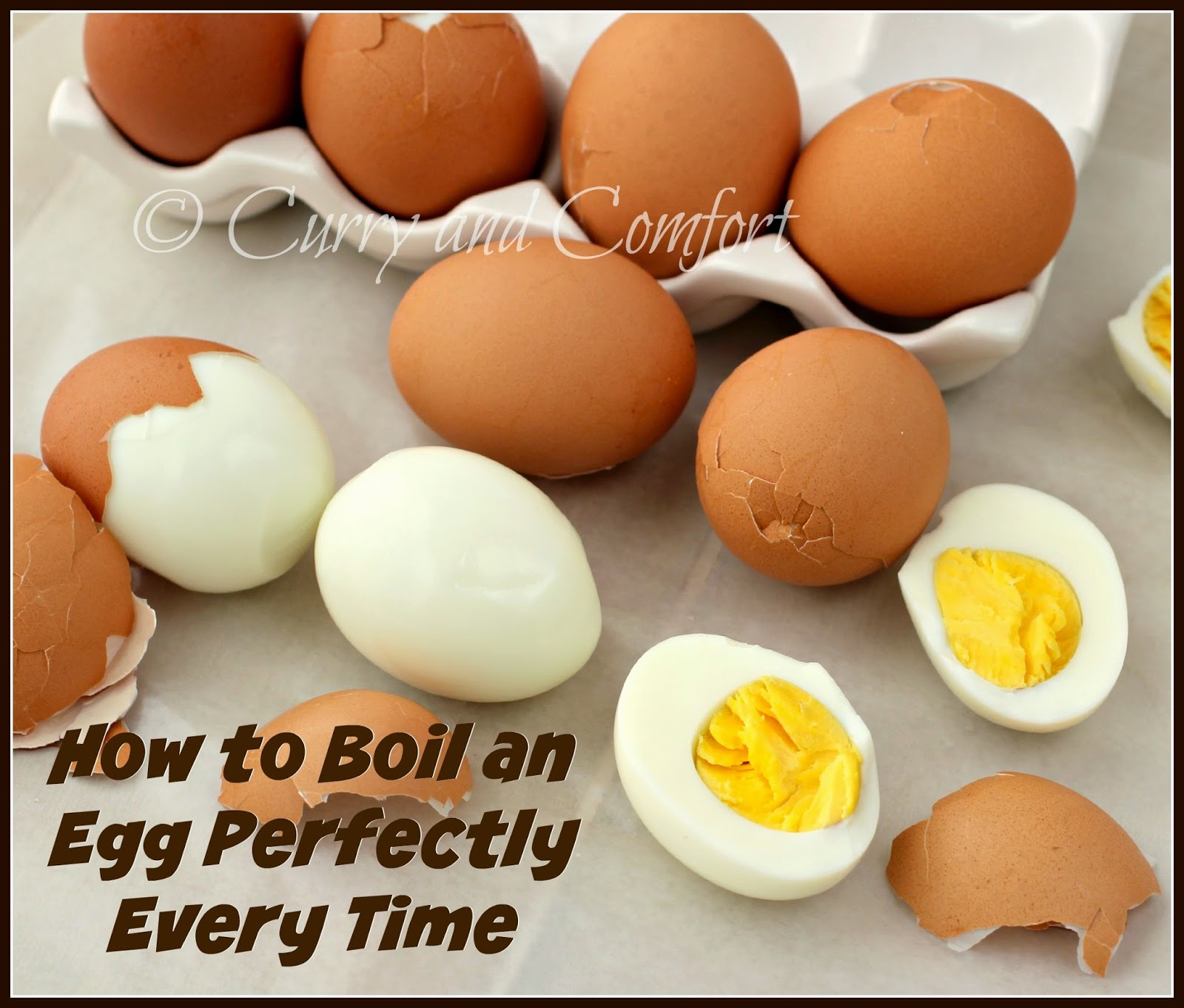 And comfort tuesday tips how to boil an egg perfectly every time