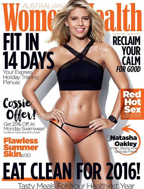Model, @ Natasha Oakley - Womens Health Australia, January 2016