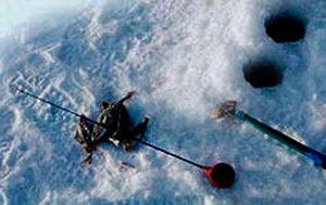 Безкивковая удочка зимняя балалайка