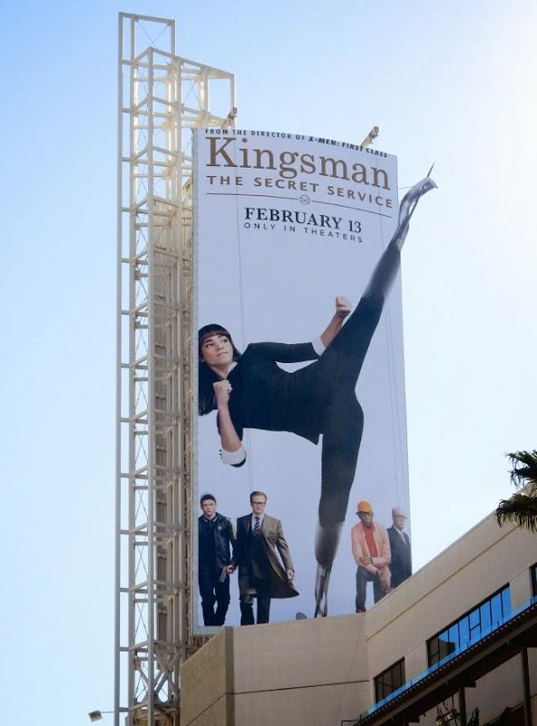 Kingsman Secret Service special billboard