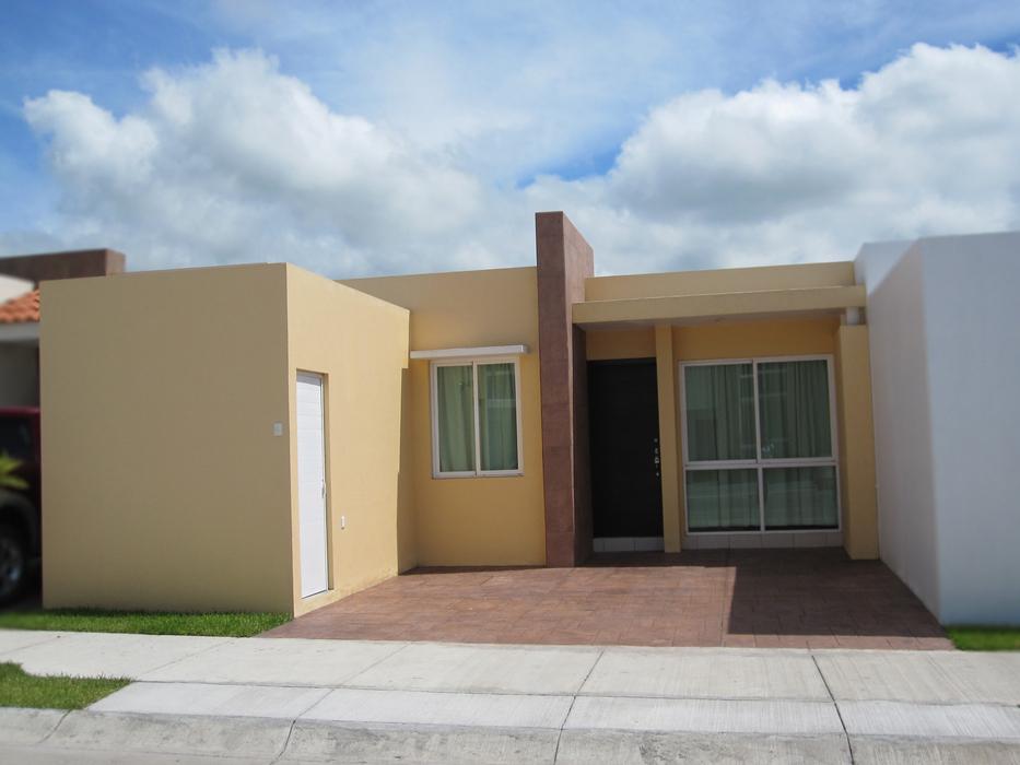 Casas mexicanas casas mexicanas de una planta for Fachadas de casas 1 planta