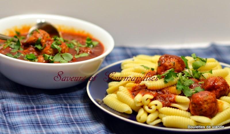 Boulettes de Dinde, Sauce Tomates de Giada Di Lorentiis