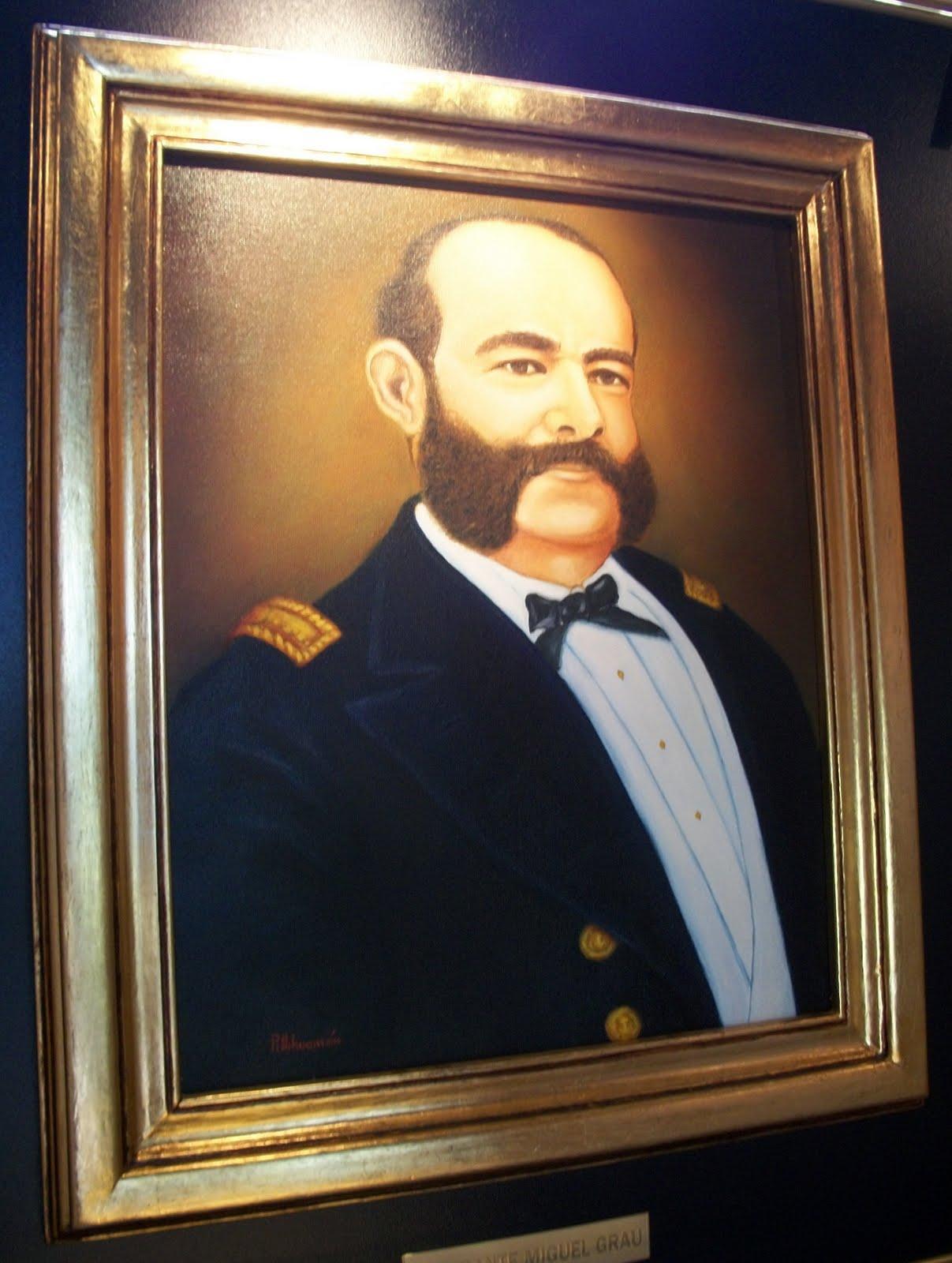 Miguel Grau Seminario   H  Roe De La Guerra Con Chile  1879 1883