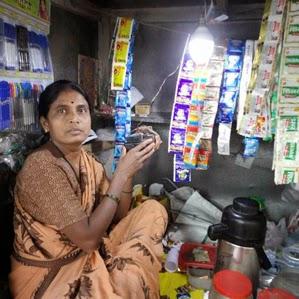 Sabías que la batería de la portátil que desechaste todavía tiene suficiente energía como para iluminar el hogar de los más pobres?
