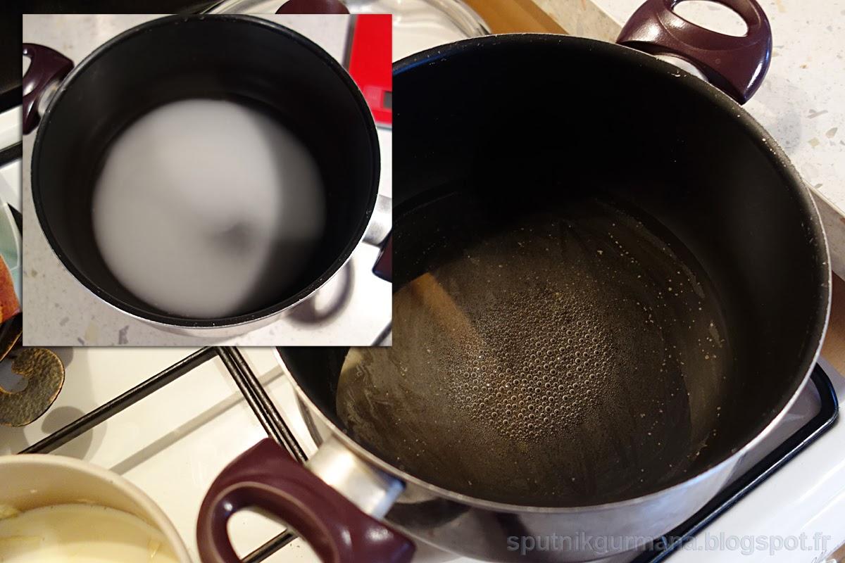Тарт с белым шоколадом и мандринами:приготовление