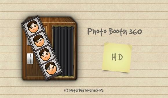 Photo Booth 360 HD para la tablet BlackBerry PlayBook se inspira en las cabinas públicas de las estaciones de tren y metro, donde se pueden sacar fotos para los documentos de las tarjetas. Ahora podemos imitar a los fotógrafos en casa y tomar hasta 4 fotos consecutivas. Para cada foto se puede utilizar uno de los cinco filtros fotográficos, y después de realizar varios cambios, podemos fácilmente publicar en Facebook. El uso de esta aplicación y la interfaz de usuario son muy sencillas, con un atractivo que encaja cuatro imágenes consecutivas, cada una de ellas a un segundo de diferencia.