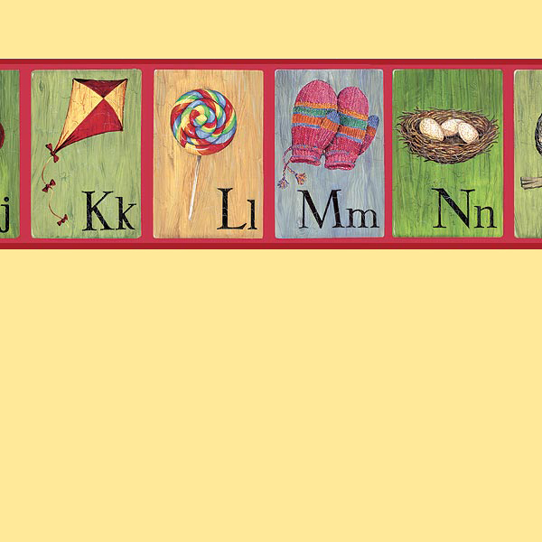 childrens kids ... U Alphabet Wallpaper