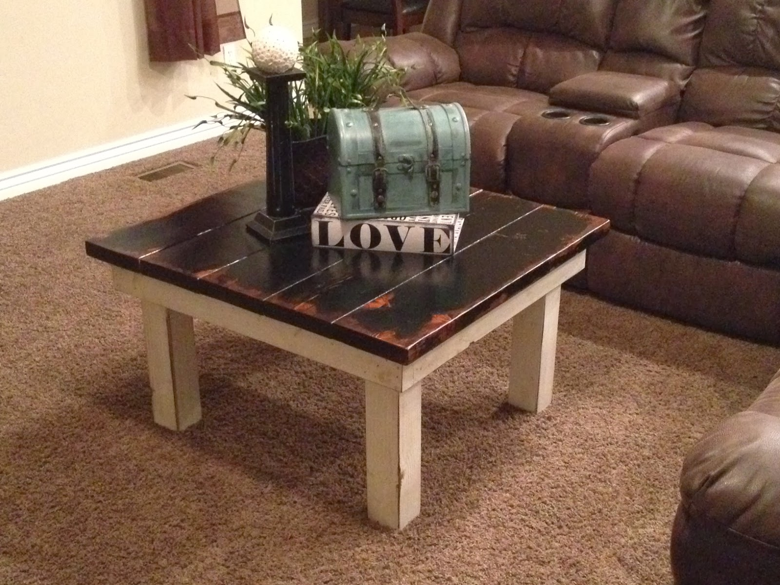 Rustic Nail Chunky Coffee table $ 160 00