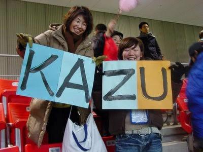 Kazu Miura.