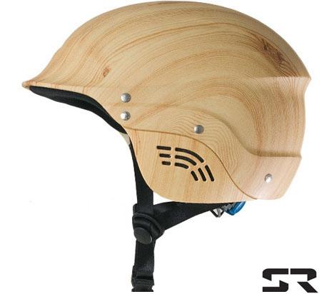 casco de madera