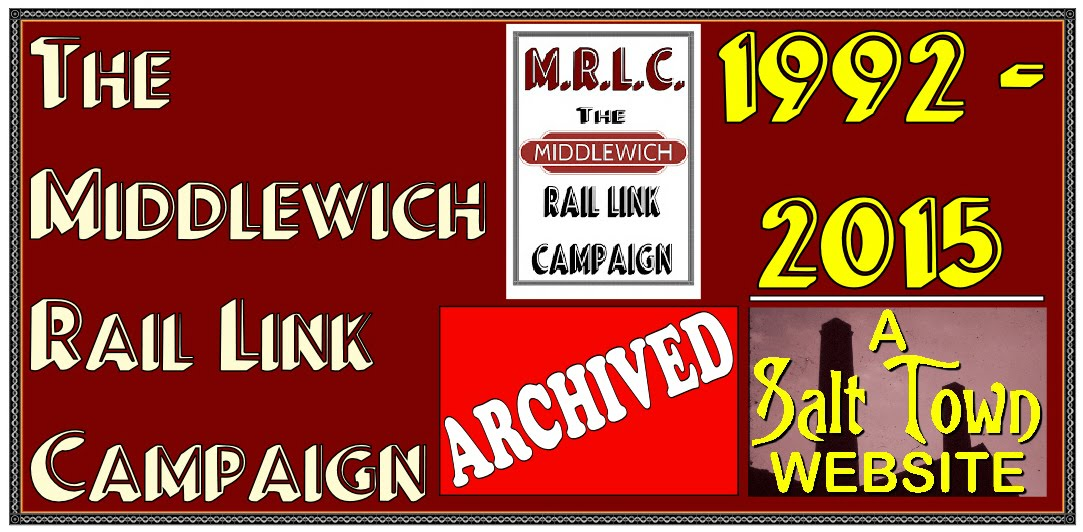 MIDDLEWICH RAIL LINK CAMPAIGN WEBSITE - ARCHIVED