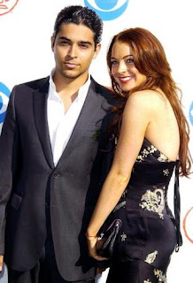 Lindsay Lohan with Boyfriend