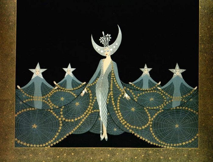 Erte Art Deco Art