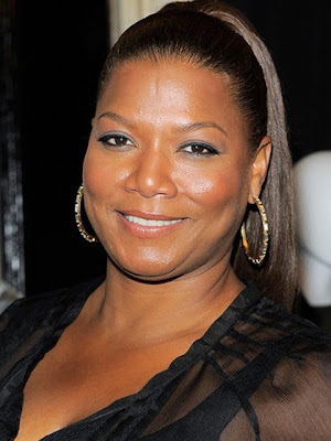 Queen Latifah Gold Hoop Earrings