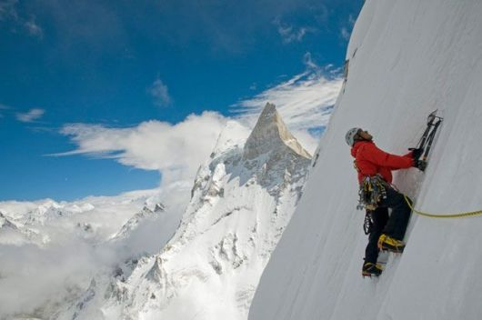 Adventurous Mountain Climbers