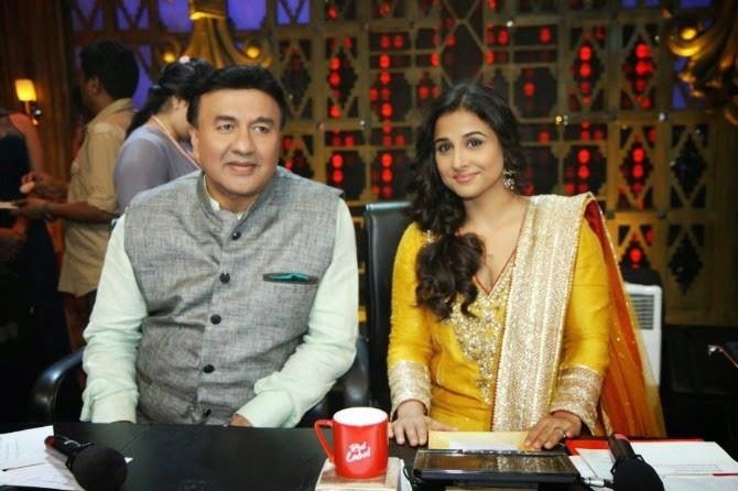 Anu Malik and Vidya Balan