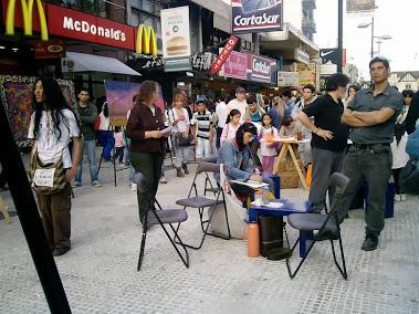 Peatonal calle Laprida