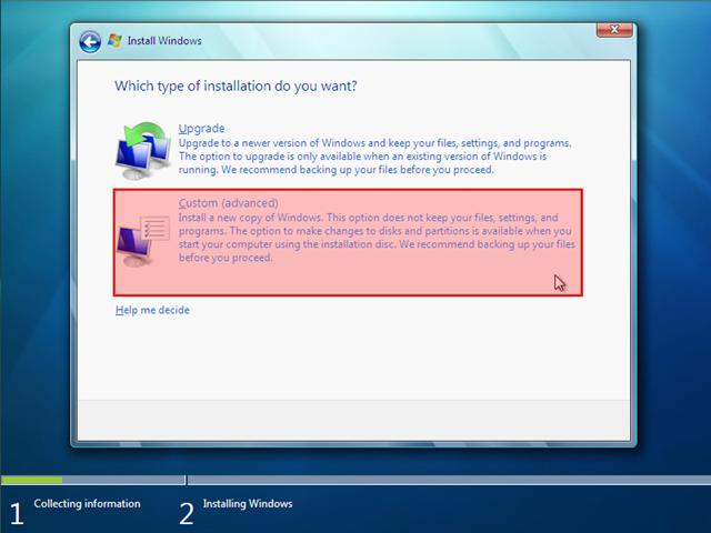 how to add windows 7 boot option to system configuration