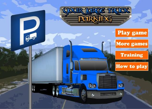 juegos de camiones juegos aparcar camiones trailer