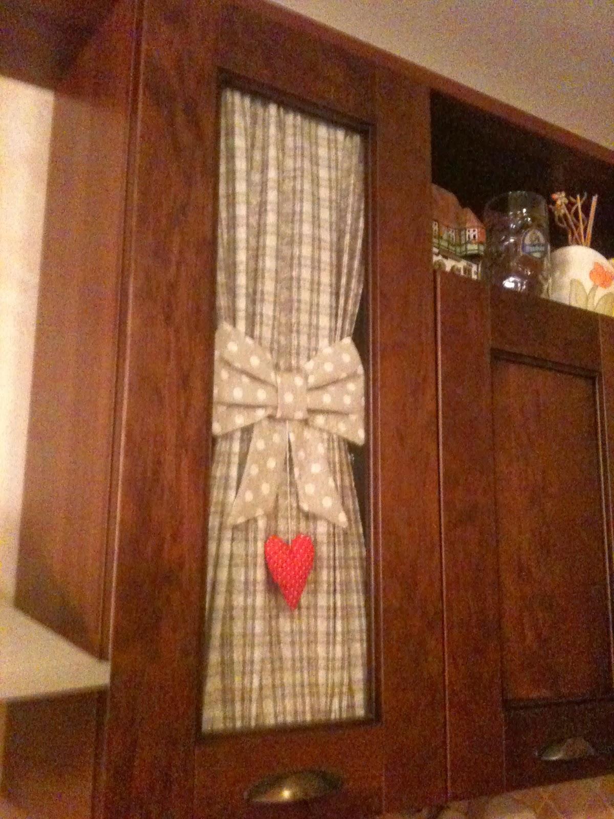 Pure heart di francesca pugliese we love country kitchens - Tendine country per cucina ...