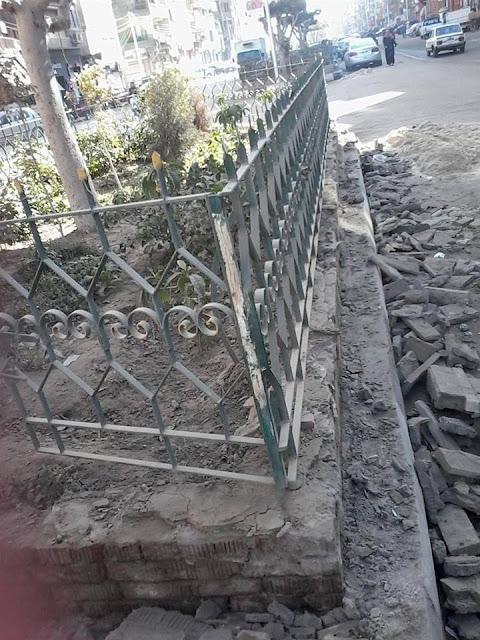 حملة نظافة لإحلال وتجديد شارع بورسعيد ميت غمر