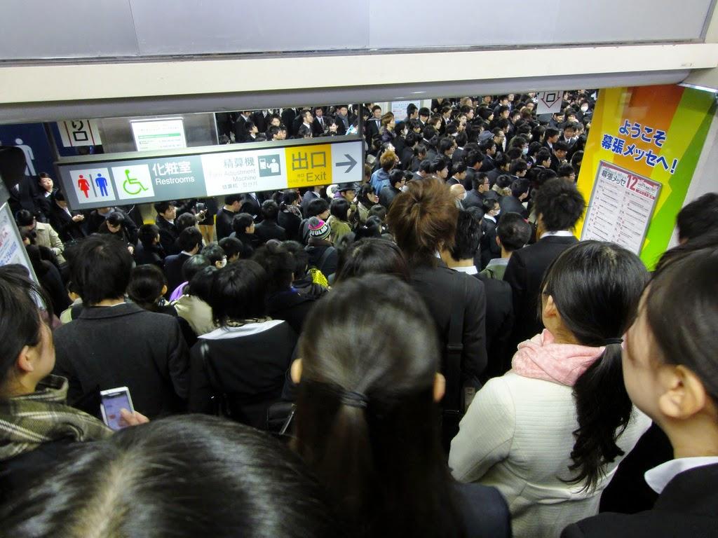 Hora punta en Japón