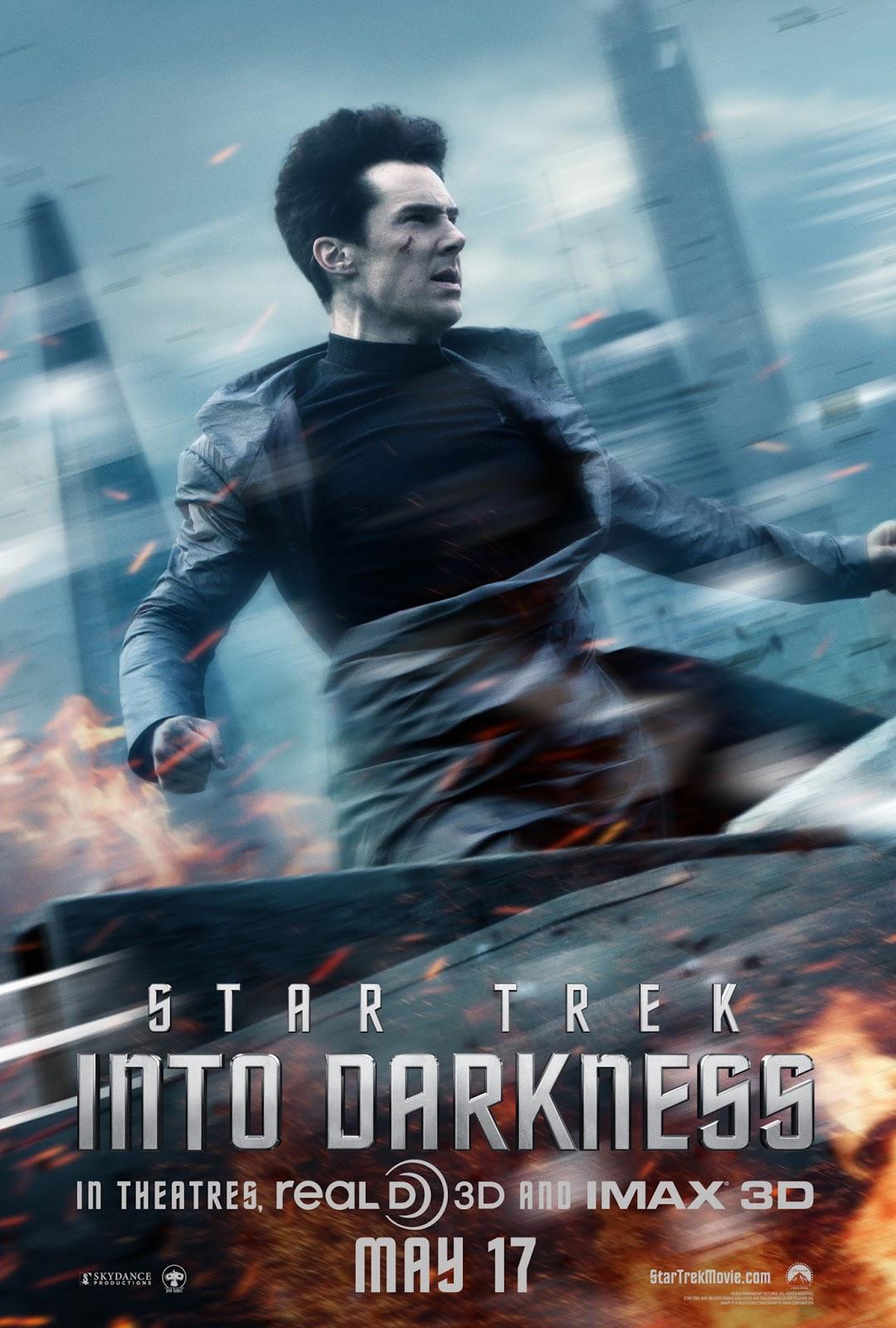 "Benedict Cumberbatch as John ""I'm totally not Khan"" Harrison."