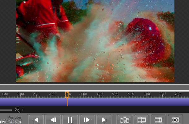 MEE run sample video