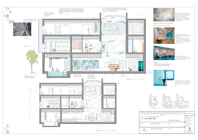 Interiorismo ac for Plantas salon