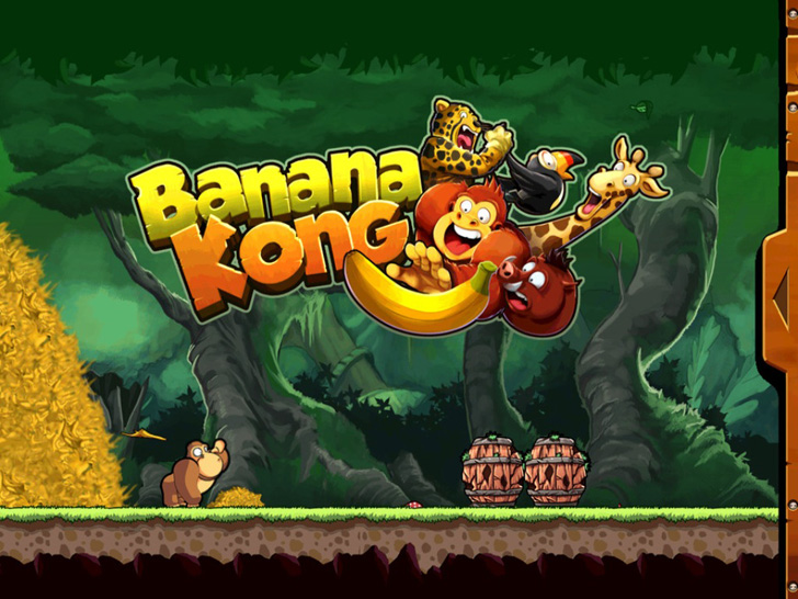 Banana Kong App iTunes App By FDG Entertainment - FreeApps.ws