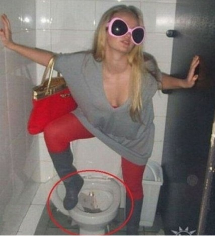 Epic Toilet Fail