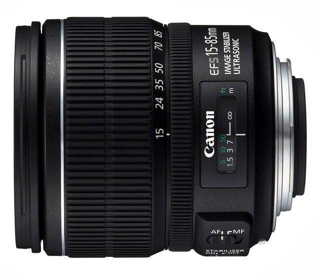 Fotografia del Canon EF-S 15-85mm f/3.5-5.6 IS USM