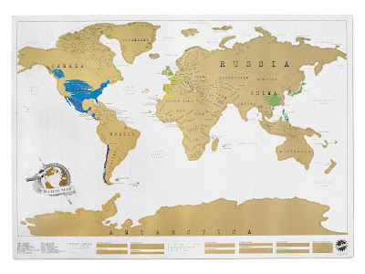 world traveling map