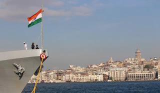 INS Trikand Visits Istanbul, Turkey