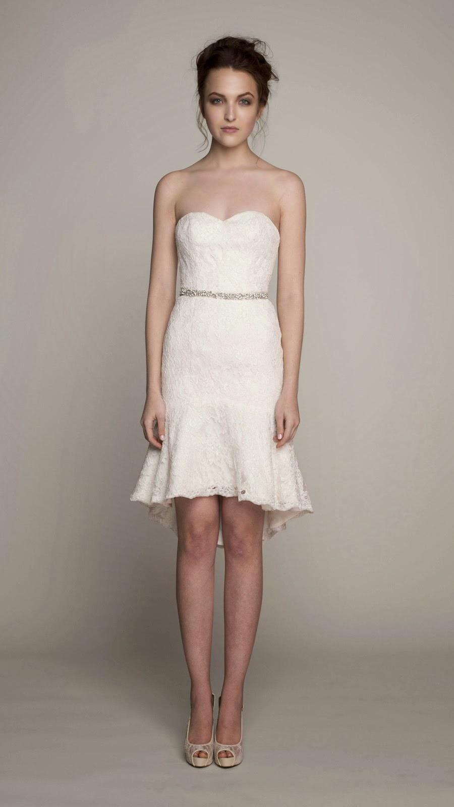 Short Wedding Dresses Alfred Angelo Dress Images