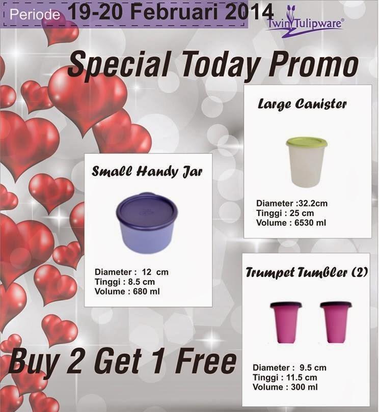 Promo Tulipware 19 dan 20 Feb 2014
