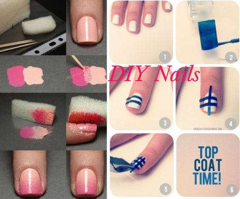 Poshthesocialite spring time do it yourself nail art diy nail art ideas for spring solutioingenieria Image collections