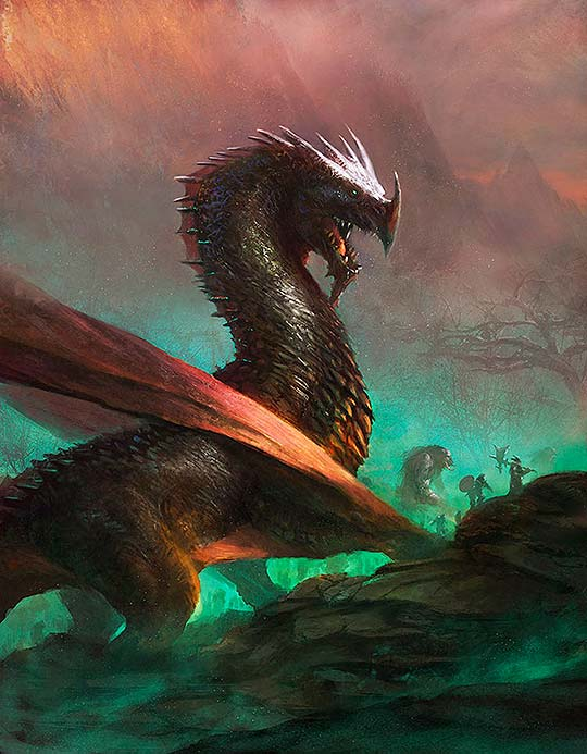 Concept art y arte digital de Grosnez